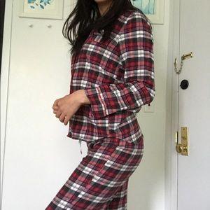 GAP Flannel Pajama Set